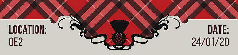 Scottish Association Burns Supper 2020