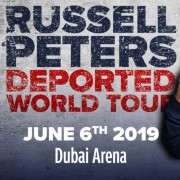 Live Nation Presents Russell Peters The Deported World Tour 2019