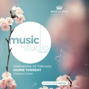 Music in the Studio 2019: Jaume Torrent