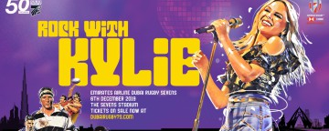 Rock With Kylie at the Dubai Sevens 2019