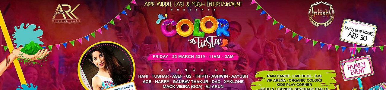 Color Fiesta '19 - Holi