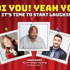 The Laughter Factory: 'Oi You! Yeah You!' w/  Louis Ramey, Adam Rowe & Jojo Sutherland ABU DHABI - May 2018