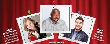The Laughter Factory: 'Oi You! Yeah You!' w/  Louis Ramey, Adam Rowe & Jojo Sutherland ABU DHABI - May 2018