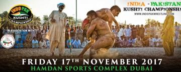 Indo-Pak Kushti Wrestling Championship 2017
