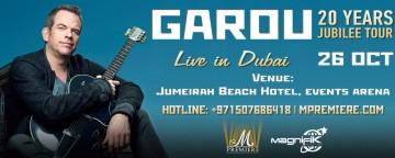 GAROU Live in Dubai: 20 Years - Jubilee Tour