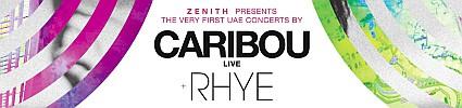 ZENITH FESTIVAL presents CARIBOU plus RHYE Live in Concert
