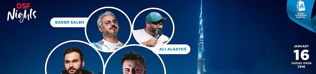 DSF Nights presents Nemr, Mo Amer, Bader Saleh & Ali Al Sayed