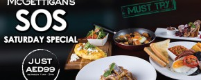 McGettigan's JLT SOS Saturday Breakfast Special