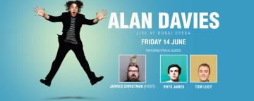 Alan Davies Live 2019