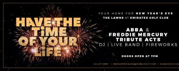 Emirates Golf Club: Have The Time of Your Life This New Year's Eve