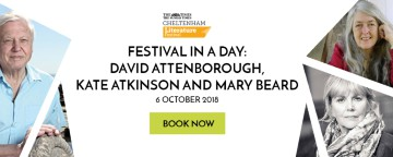 Festival in a Day: David Attenborough, Mary Beard & Kate Atkinson Live from Cheltenham
