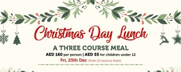 The Irish Village GARHOUD Christmas Day Lunch 2020 - OUTDOOR TABLES FULLY BOOKED!