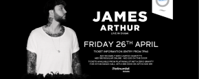 Zero Gravity presents James Arthur Live in Dubai