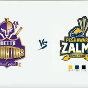PSL 2018: Quetta Gladiators v Peshawar Zalmi - 1 Mar