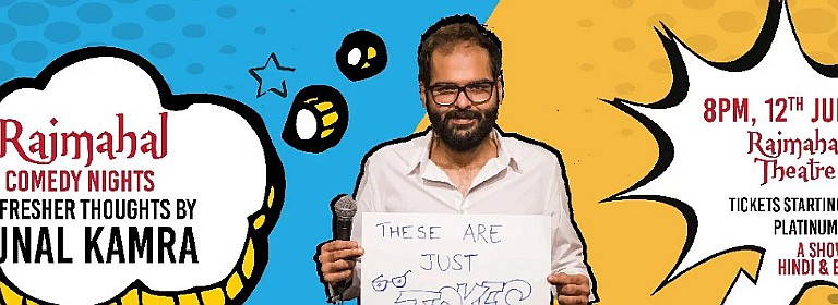 Comedy Nights with Kunal Kamra - SOLD OUT