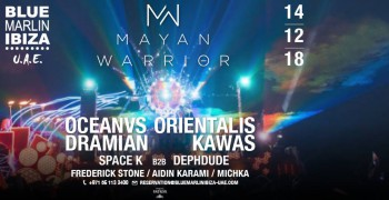 Blue Marlin Ibiza UAE Mayan Warrior Fundraiser