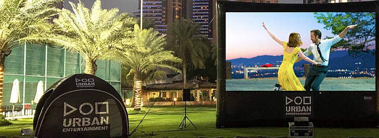 Urban Outdoor Cinema: Labyrinth