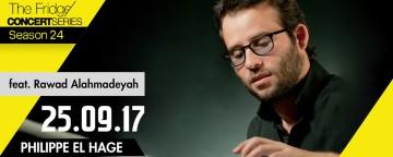 The Fridge Concert Series: Philippe el Hage feat. Rawad Alahmadeyah