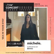 The Fridge Concert Series Summer Special Season 34: michele. supported by Bayou