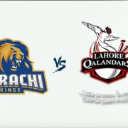 PSL 2018: Karachi Kings v Lahore Qalandars - 11 Mar