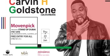 Stand Up Dubai ft. Carvin H Goldstone