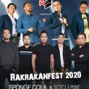 Rakrakanfest 2020 feat Sponge Cola & 6cyclemind