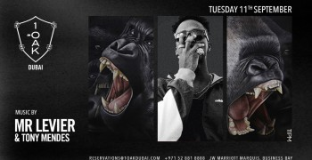 Tuesday at 1OAK w/ Mr Levier & Tony Mendes