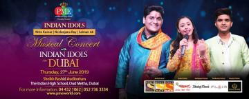 Musical Concert - Indian Idols in Dubai w/ Nitin Kumar, Neelanjana Ray & Salman Ali