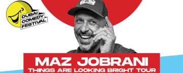 Dubai Comedy Festival 2021: Maz Jobrani ' Things are Looking Brighter' Tour