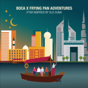 BOCA and Frying Pan Adventures Iftar 2021