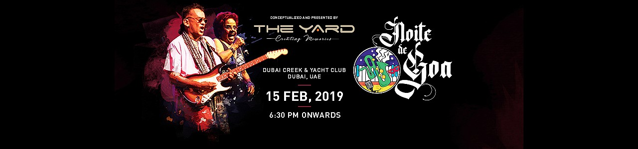 The Yard presents Noite De Goa 2019