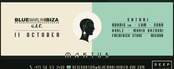 Satori presents Maktub w/ Adonis (Live), Lum, Sorä & More