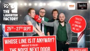 'Whose Line is it Anyway?'brought to you byThe Noise Next Door Live in Bahrain 2019