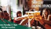 McGettigan's JLT Thursday Evening Brunch