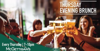 McGettigan's JLT Thursday Evening Brunch