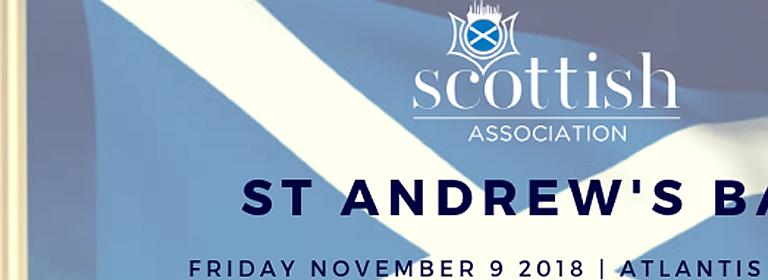 St Andrew's Ball 2018