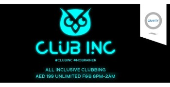 Zero Gravity presents Club Inc