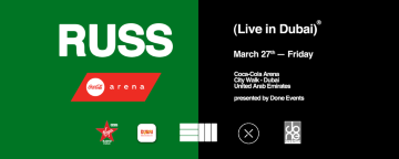 RUSS Live in Dubai 2020 - POSTPONED
