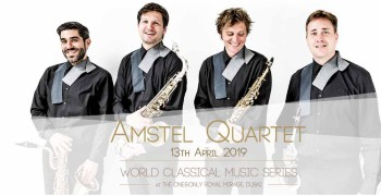 World Classical Music Series presents Amstel Quartet