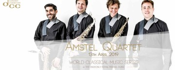 World Classical Music Series presents Amstel Quartet