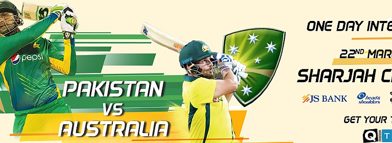 4th One Day International (ODI) Pakistan v Australia