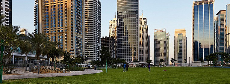 Jumeirah Lakes Towers Park