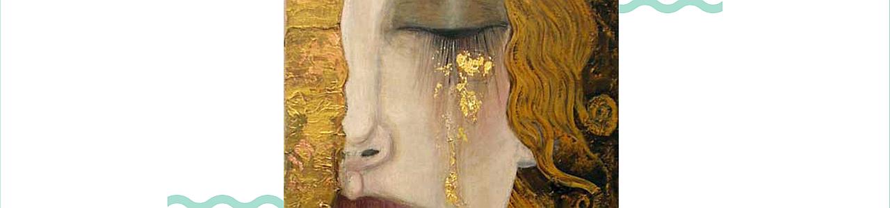 Paint & Grape - Golden Tears by Klimt