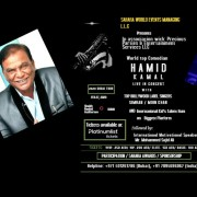 A Celebration of Life and Live Show: Hamid Kamal Live in Concert with Top Bollywood Label Singers Simran / Moin K