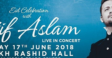 Eid Celebration with Atif Aslam Live in Dubai