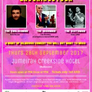The Irish Village and Jumeirah Creekside Presents Laughingstock