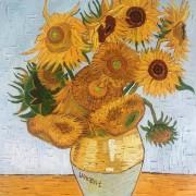 Paint & Grape: Sunflowers by Van Gogh