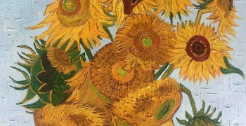 Paint & Grape: Sunflowers by Van Gogh