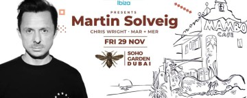 Cafe Mambo w/ Martin Solveig 2019