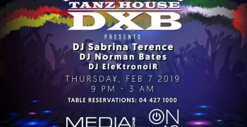 ON42 Tanz House DXB w/ Sabrina Terence